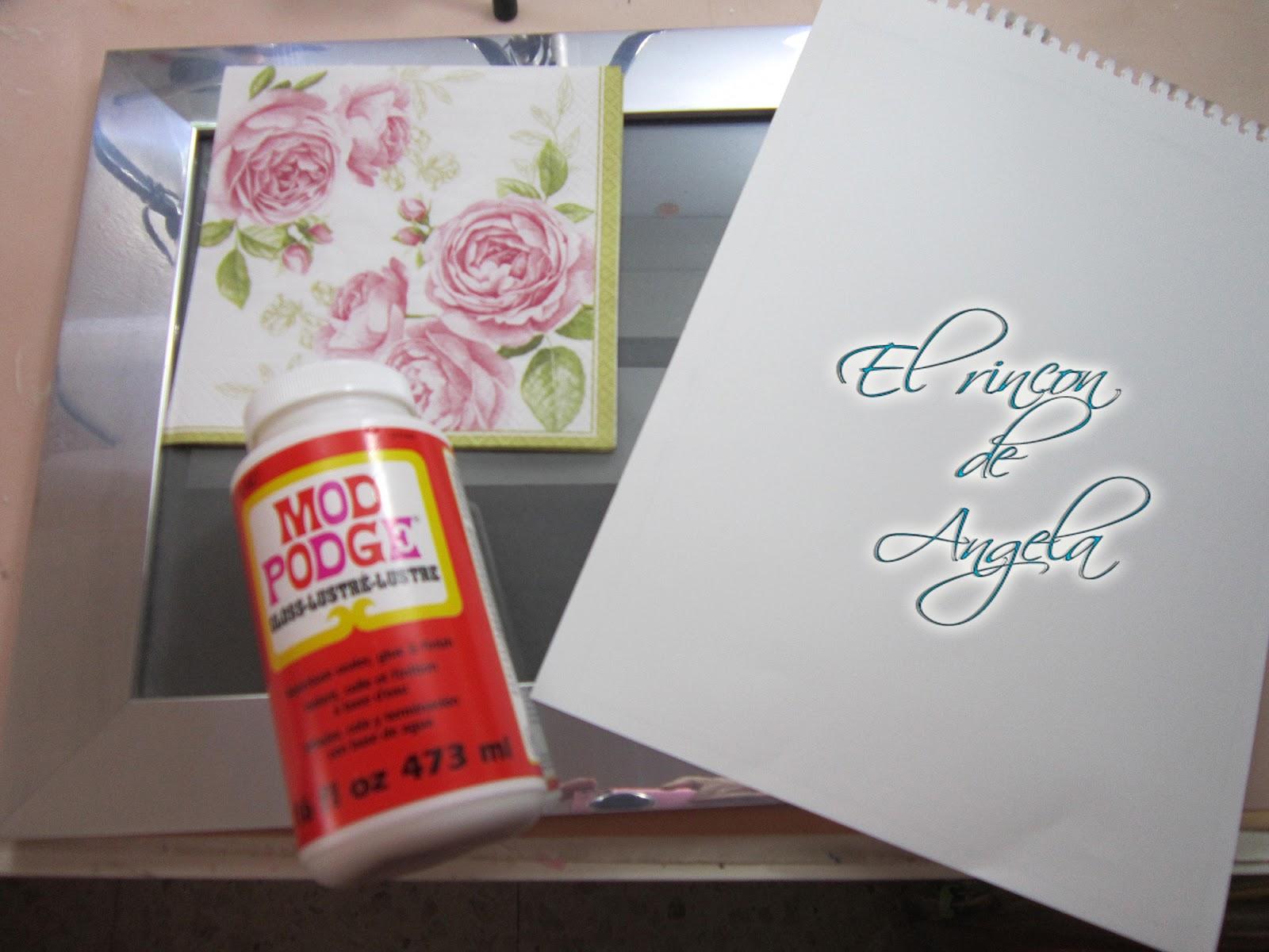 Renovar un marco de fotos - Handbox Craft Lovers   Comunidad DIY ...