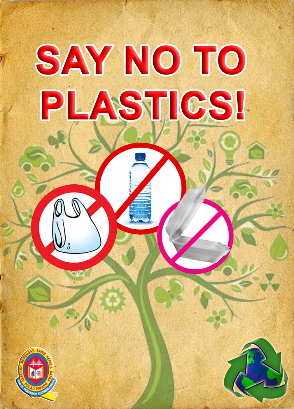 Say no to plastic bags summary