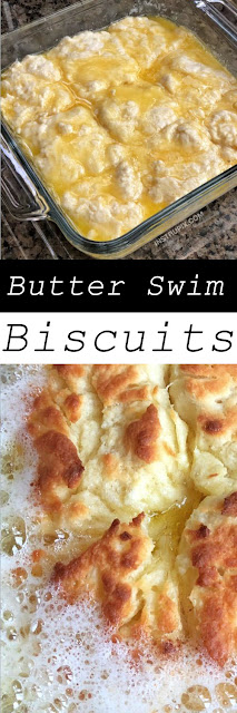 Delicious Butter Swim Biscuits
