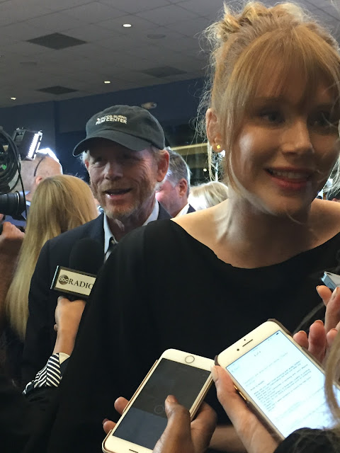 Ron and Bryce Dallas Howard at Broken Memories movie screening