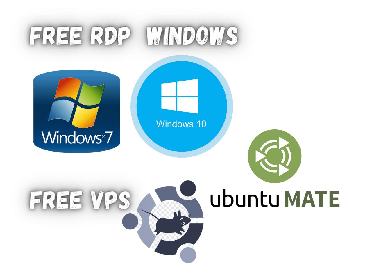 Free Rdp Windows and ubuntu 50 Hours