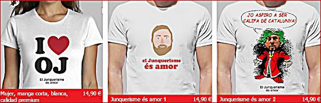 Junquerismo es amor  (la 3ª es diseño de granuribe50)