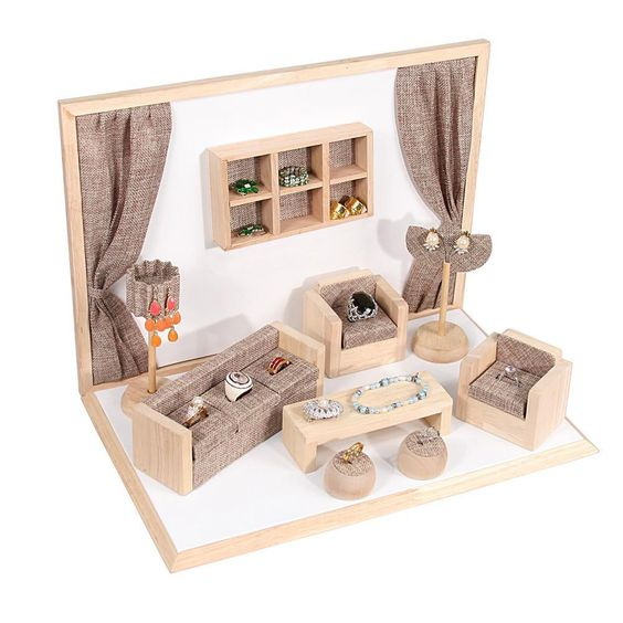 Mini Furniture Jewelry Display Set