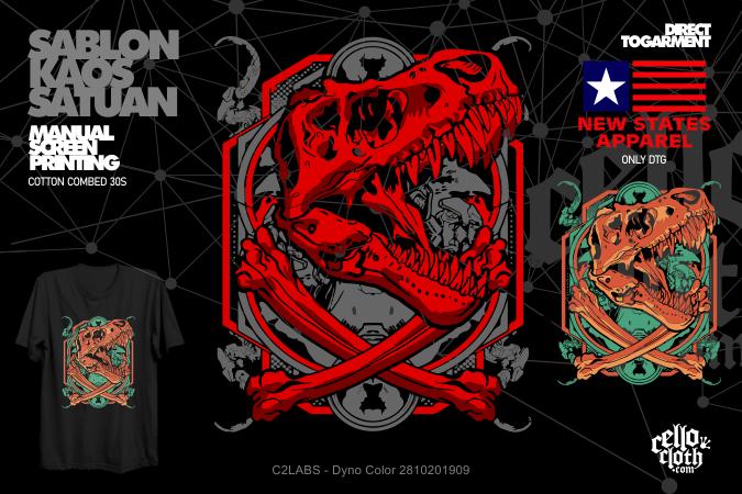 Dyno Color 2810201909 Kaos Distro C2LABS CUSTOM WEB ID