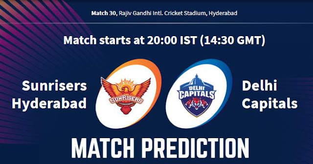 VIVO IPL 2019 Match 30 SRH vs DC Match Prediction, Probable Playing XI: Who Will Win?