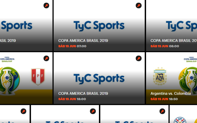 EN VIVO: la Copa América Brasil 2019 online