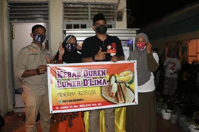 Kebab Duren Lumer Delima