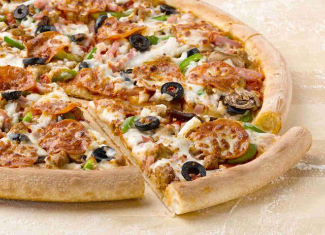 Papa john 39 s pizzas are half off this month brand eating - Papa john s pizza garden fresh pizza ...