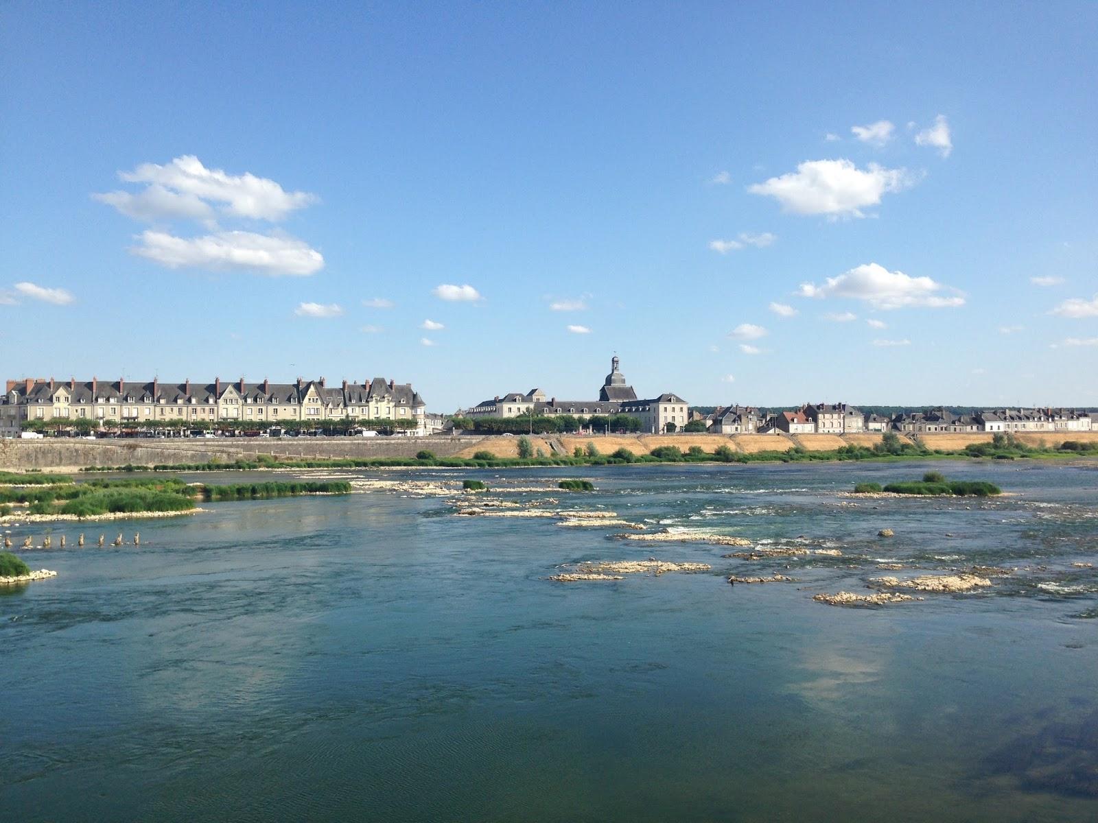 Blois, droga rowerowa nad Loarą