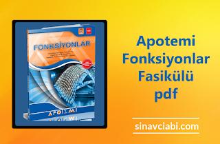 Apotemi Fonksiyonlar Fasikülü pdf