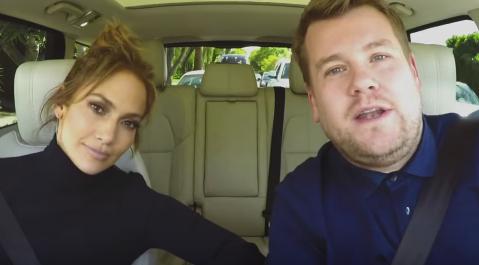 "Jennifer Lopez participará en el ""Carpool Karaoke"" de James Corden."
