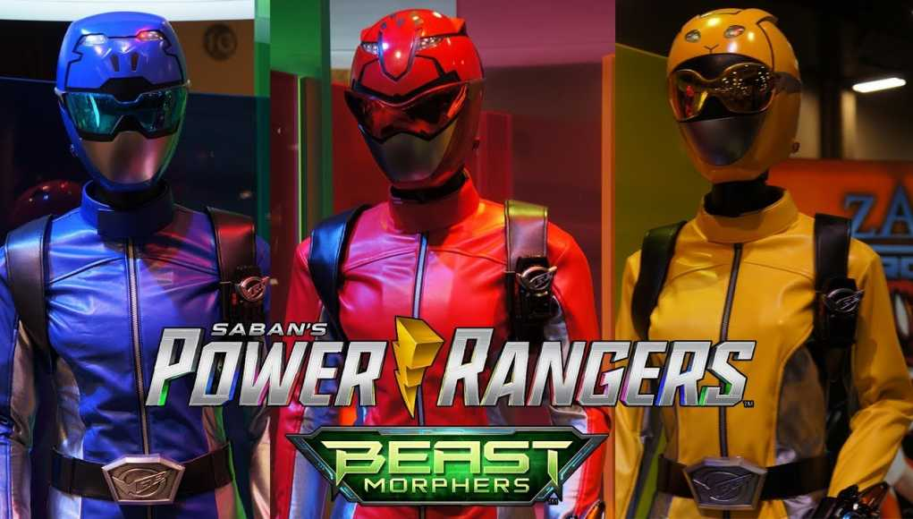 Entertainment Inside Us: Power Rangers Beast Morphers