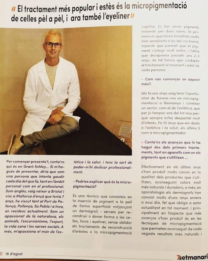 Entrevista a Grant Ashley a la revista 7setmanari