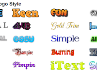Cara membuat logo blog menggunakan cooltext