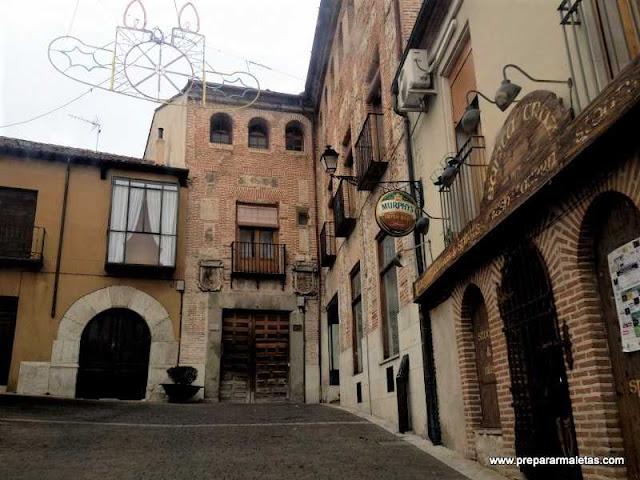 palacios y caserones medievales Cuéllar