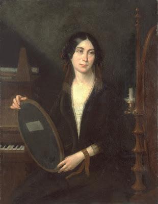 D'après Hilaire Ledru (1869 - 1840) - Portrait de Marceline Desbordes-Valmore - Bibliothèque municipale de Douai