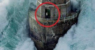 Faros en contra de la furia de la naturaleza: Video del Faro de la Jument!