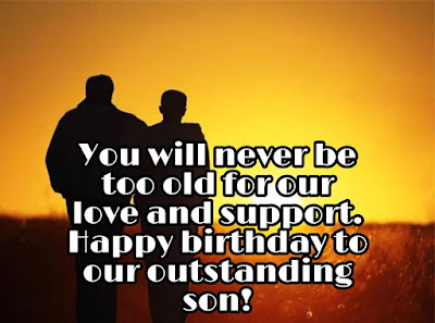 Birthday Wishes to son
