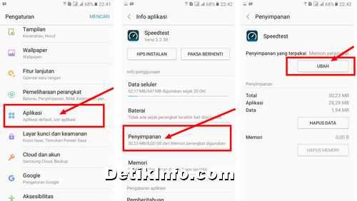 Cara Pindah Aplikasi ke MicroSD di HP Samsung Galaxy