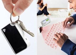 Diseño de teclado virtual láser