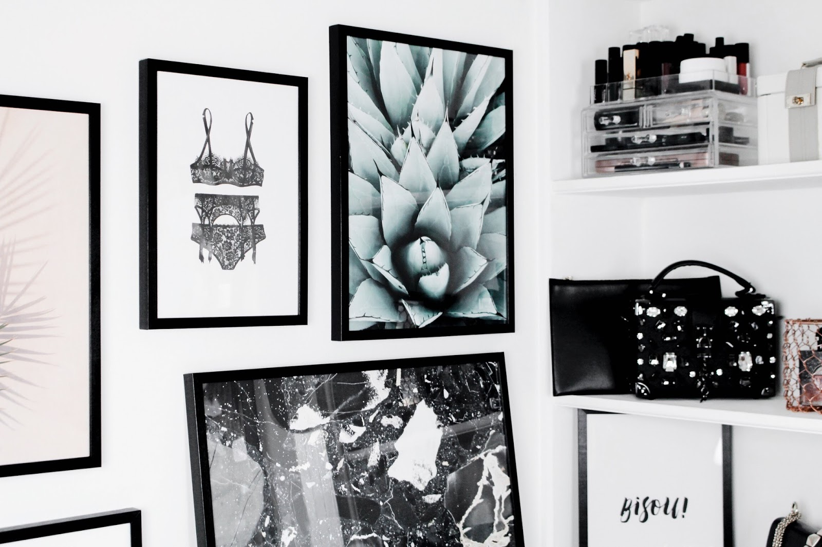 Desenio Art Prints Chic Minimal Wall Display