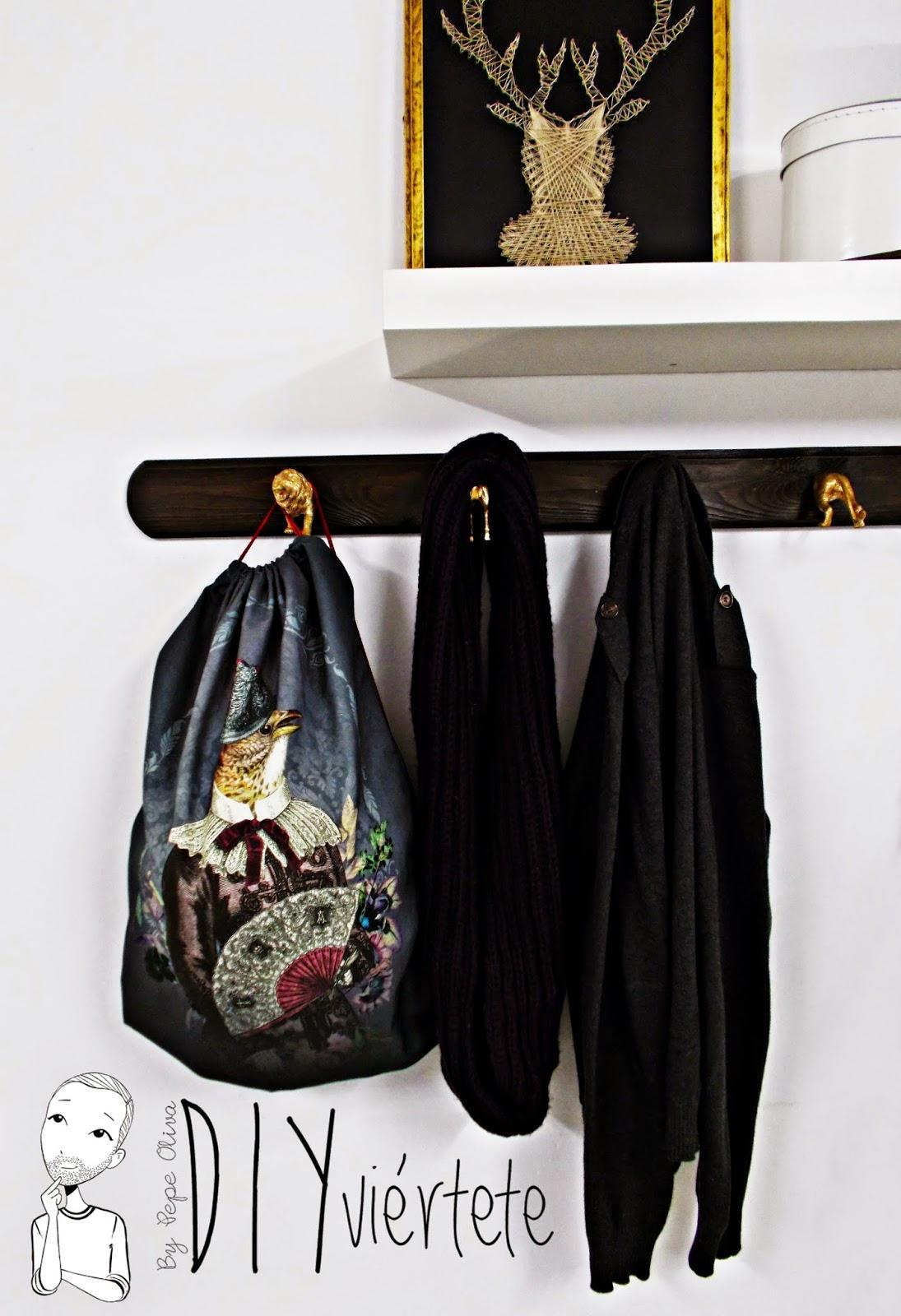 Mochila con Paños de Cocina de ZARA HOME - Handbox Craft Lovers ...