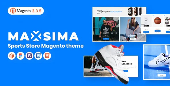 Best Sports eCommerce Magento Theme