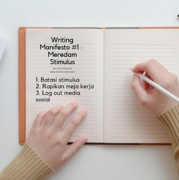 Tips agar fokus menulis