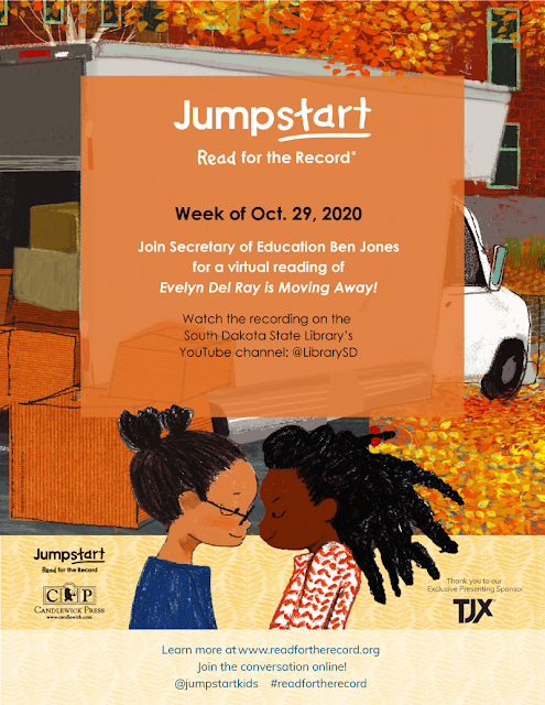 Jumpstart Read for the record poster