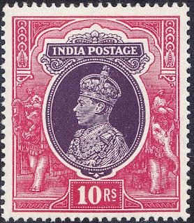 India George VI 1935 10rs