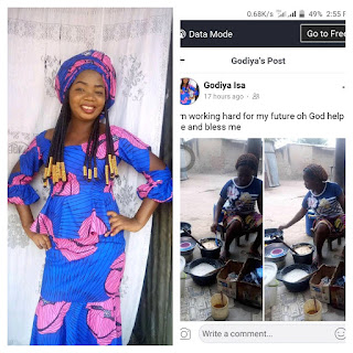 """I Am Working Hard For My Future, O God Help Me And Bless Me"" Taraba Lady Who Fries Akara Cries Out"