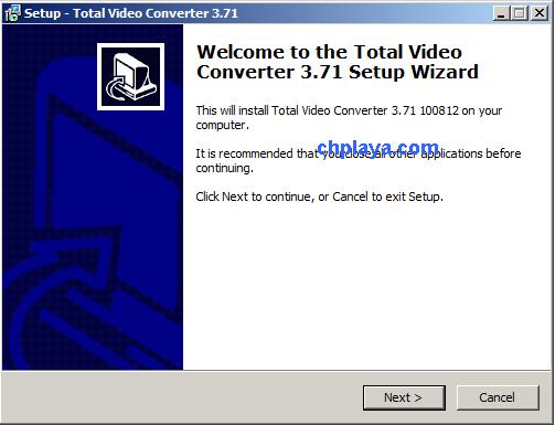 Hướng dẫn cài đặt Total Video Converter 3.71 Full Key + Active trên máy tính, laptop windows 7 b