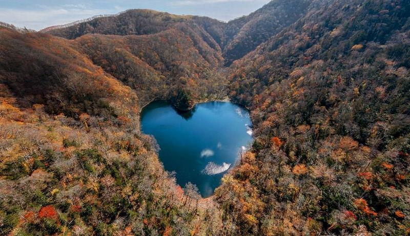 Lake Toyoni — Japan's Heart-Shaped Lake, Heart-Shaped Lake in Japan, Lake Toyoni