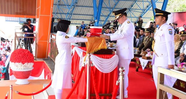 Pejabat Bupati Sinjai Menjadi Irup Peringatan Detik-detik Proklamasi Kemerdekaan HUT RI 73