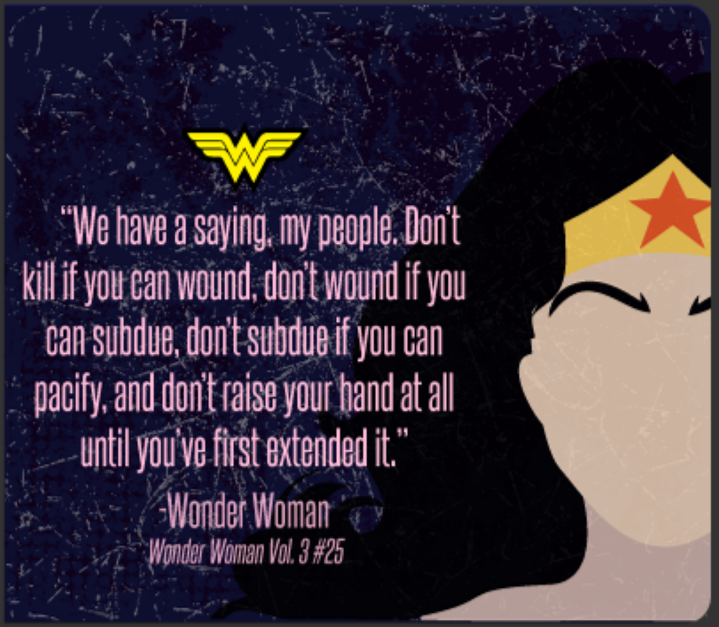 Wonder woman inspirational quotes oh my fiesta for geeks wonder woman inspirational quotes ccuart Choice Image