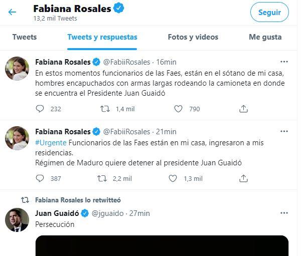 Presidente Juan Guaidó fue secuestrado por el FAES a pocos minutos de llevarse también a Freddy Guevara