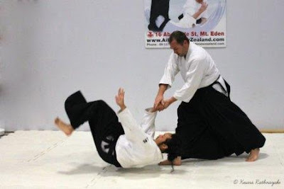 Aikido-training