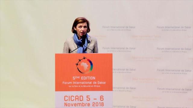 Francia califica de 'dura' decisión de EEUU de retirarse de Siria