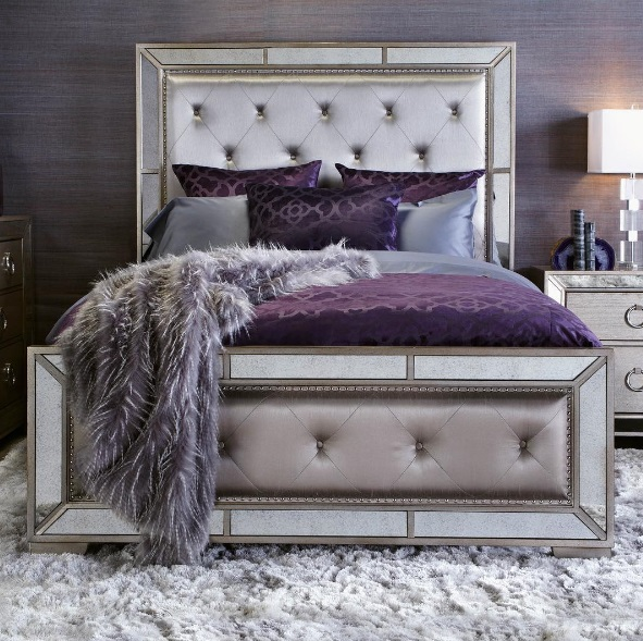 Great Glam Bedroom Decor Ideas. Lush Fab Glam Blogazine Modern ...