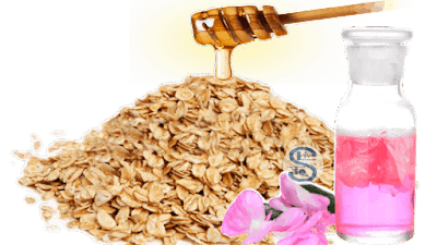 Oatmeal and Rosewater Face pack For Glowing Skin