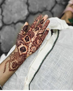 latest mehndi design 2021