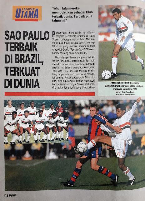 LAPORAN UTAMA SAO PAULO TERBAIK DI BRAZIL TERKUAT DI DUNIA A