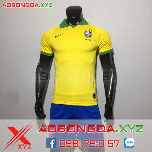 Áo Đội Tuyển Brazil 2020 Sân Nhà