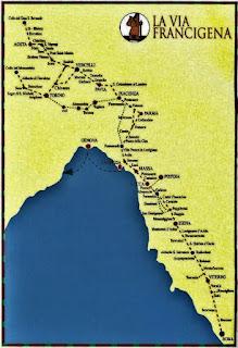 via francigena mappa