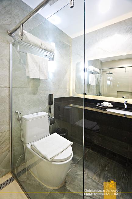 Marcian Garden Hotel Zamboanga Toilet