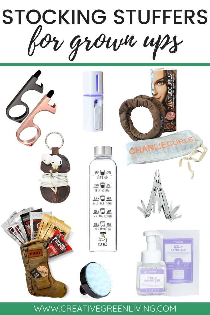 Stocking Stuffers for grown ups - more than 75 ideas for men, women and adult children