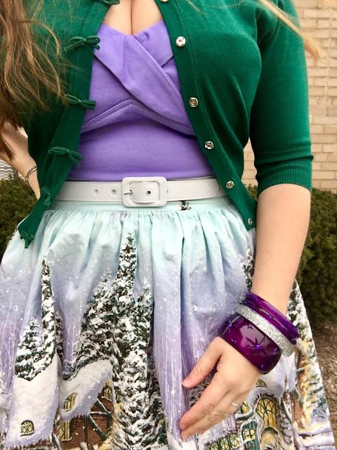 purple Splendette bangle