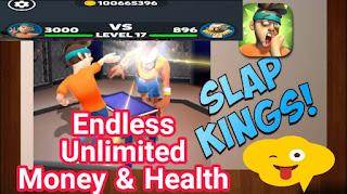 صفحة تحميل لعبة Slap Kings