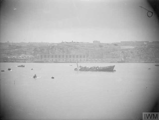 Royal Navy destroyer HMS Maori, sunk at Malta on 12 February 1942 worldwartwo.filminspector.com