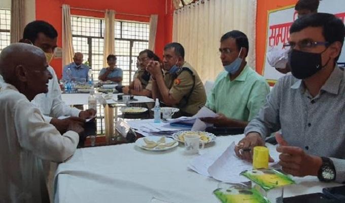 गाजीपुर: संपूर्ण समाधान दिवस: 598 में मात्र 21 का हुआ निस्तारण